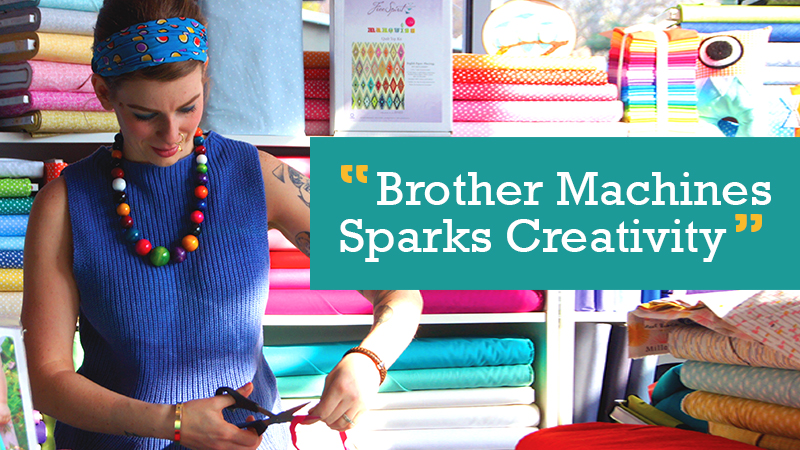 Brother Machines Sparks Creativity