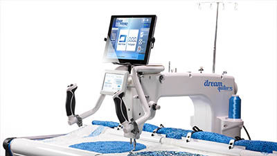 Dream with Brother Sew's Newest Quilt System