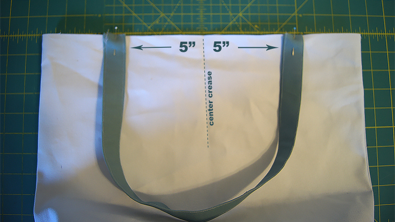 boro tote handle placement