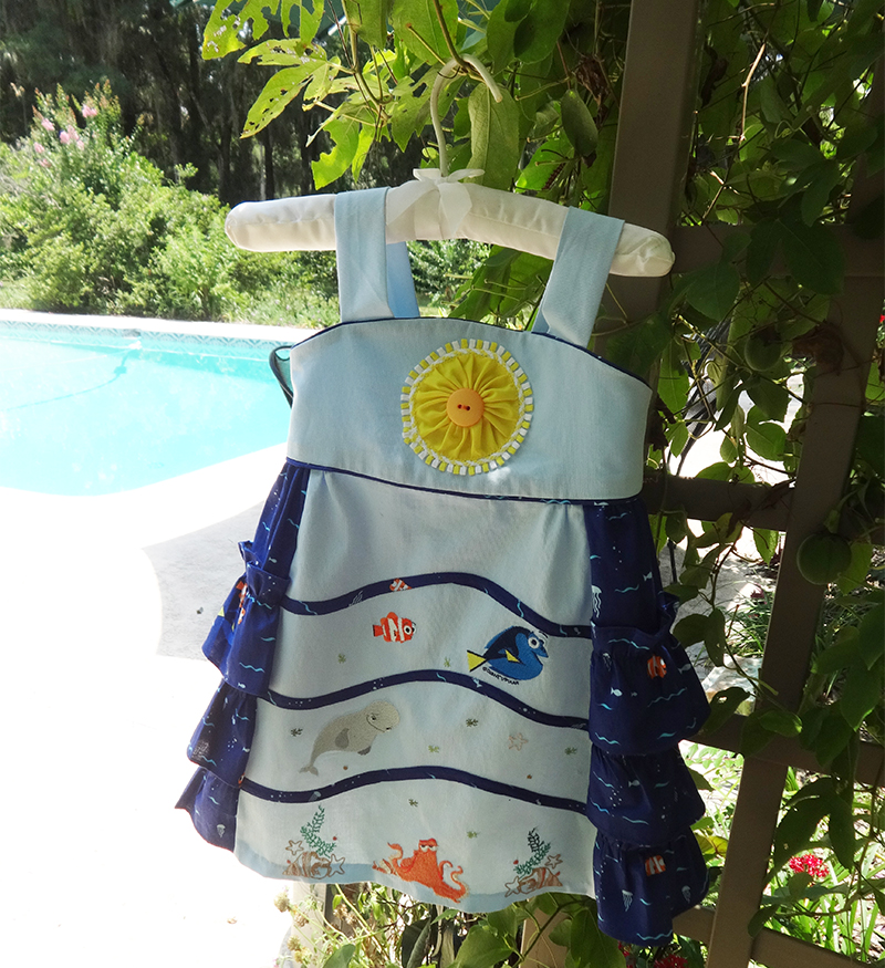 Finished Dory dress