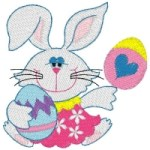 Easter Basket Bunny Design