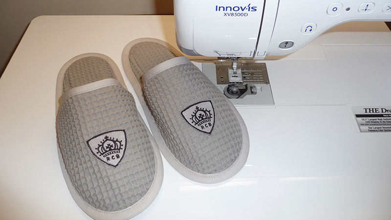 Slippers Crowned for a King – FREE DESIGN