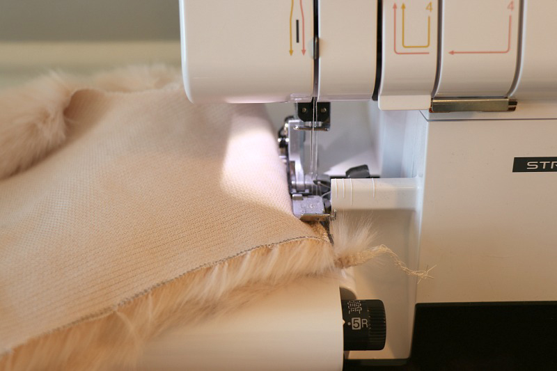 Sewing with Faux Fur Part 2