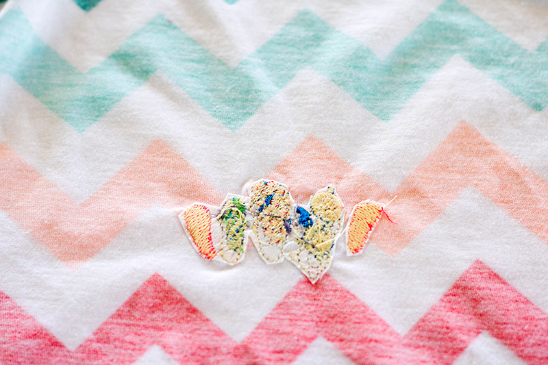 Embroidery on Knit