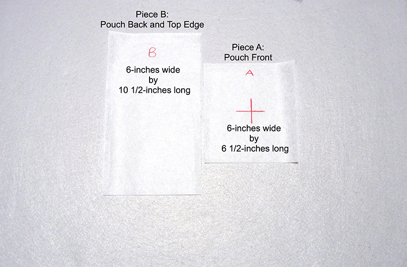 2 pieces of fabric