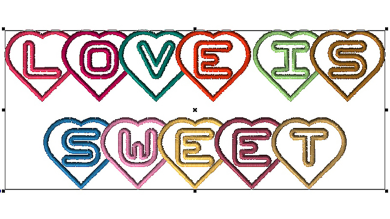 Lettering Tutorial: LOVE IS SWEET