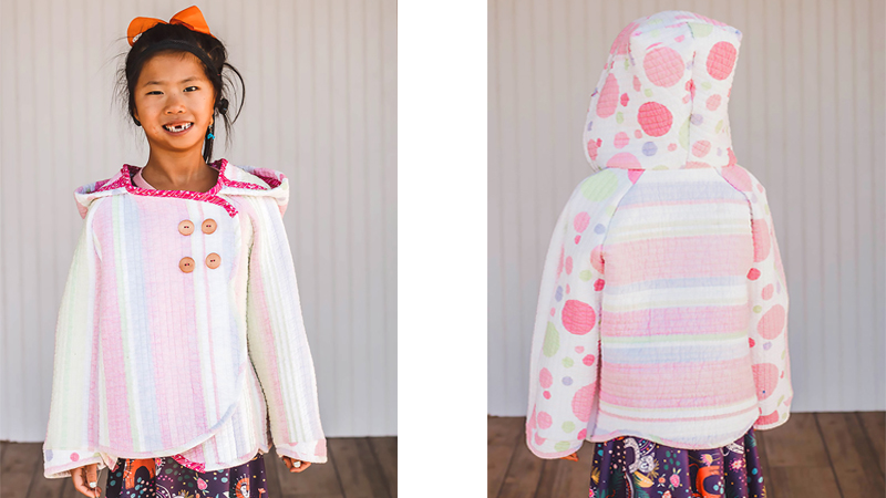 Turn a Quilt into a Coat