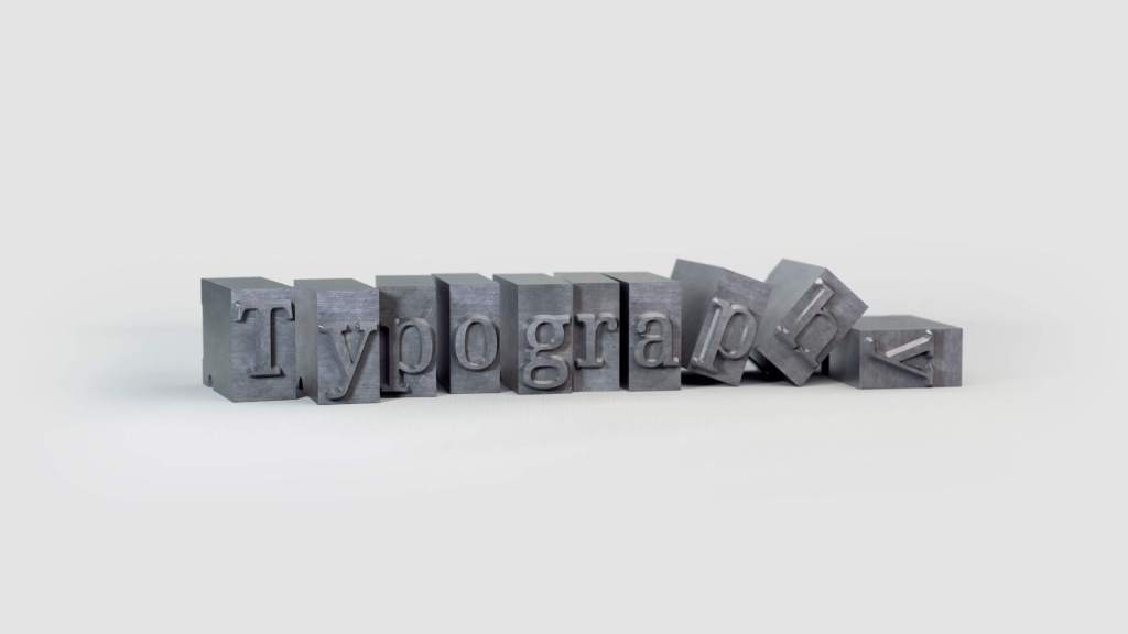 "Blocks that contain text ""Typography"""