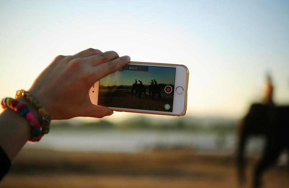 Cellulare video digitale