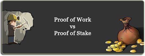 staking pool post image of proof of work vs proof of stake