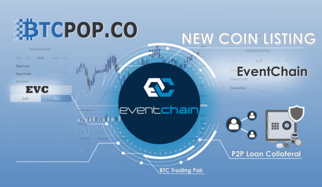 New Listing at Btcpop: EventChain