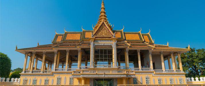 Cambodia skyline