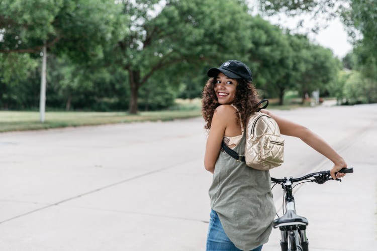 Biking style for commuters.
