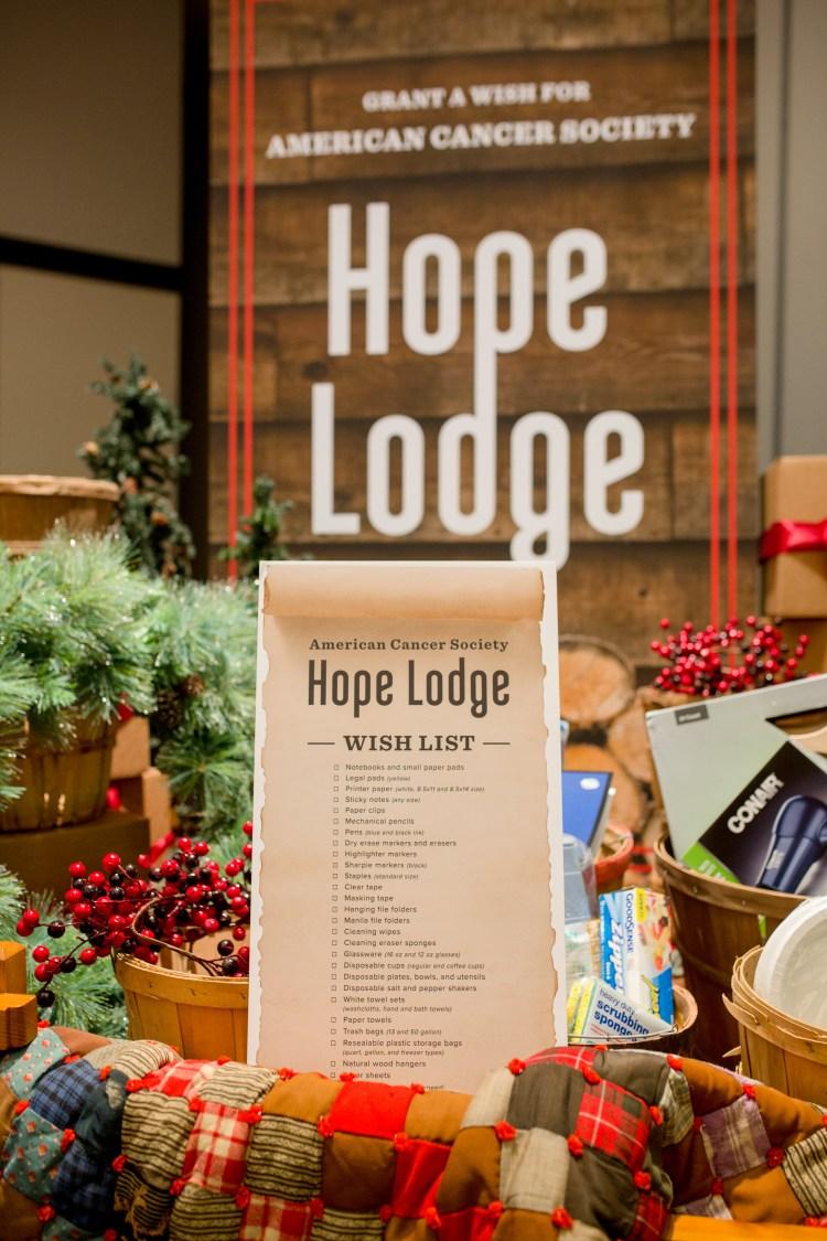 American Cancer Society Hope Lodge Wish List