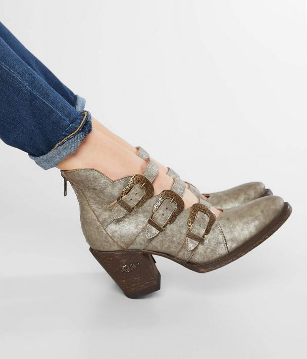 Women's Miss Macie In A Tizzy Leather Ankle Boot