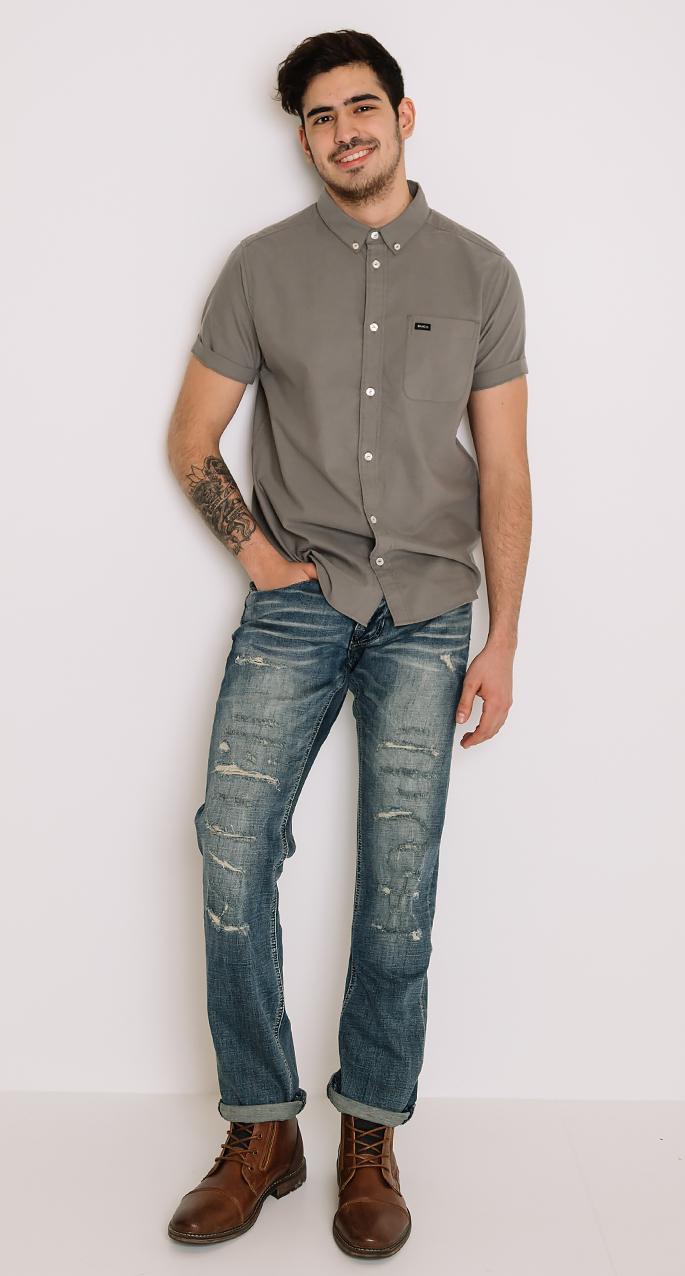 Buckle Brand Event Outfit featuring Departwest, RVCA, and Steve Madden
