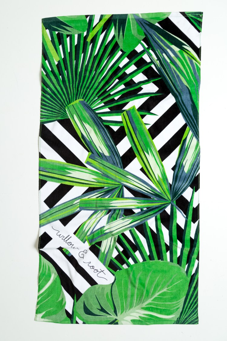 Willow and Root Buckle Brand Event Beach Towel