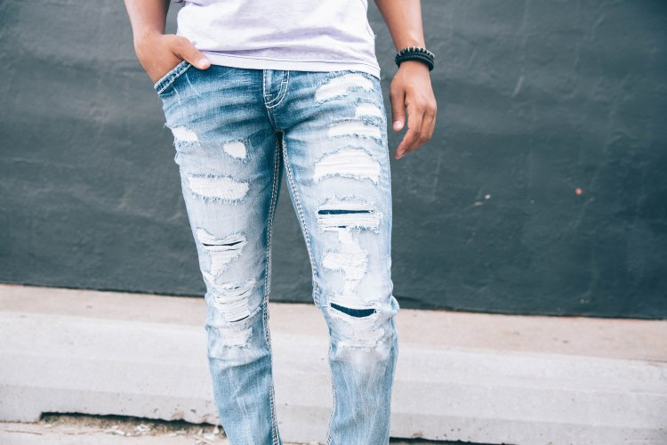 rock revival has revolutionized the idea of denim detailing - and we are here for it.