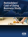 Remodelers Cost of Doing Business