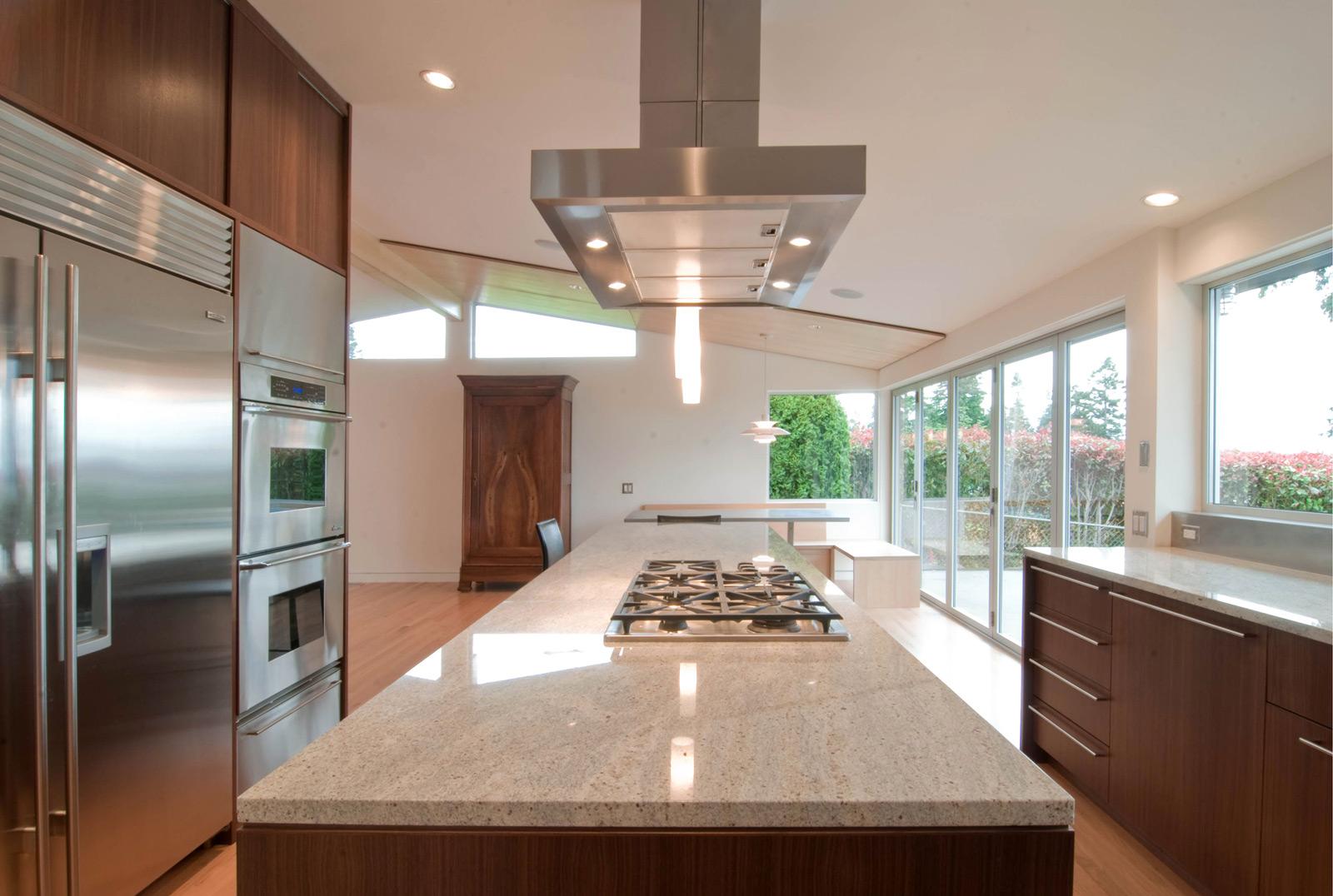 kitchen hood venting