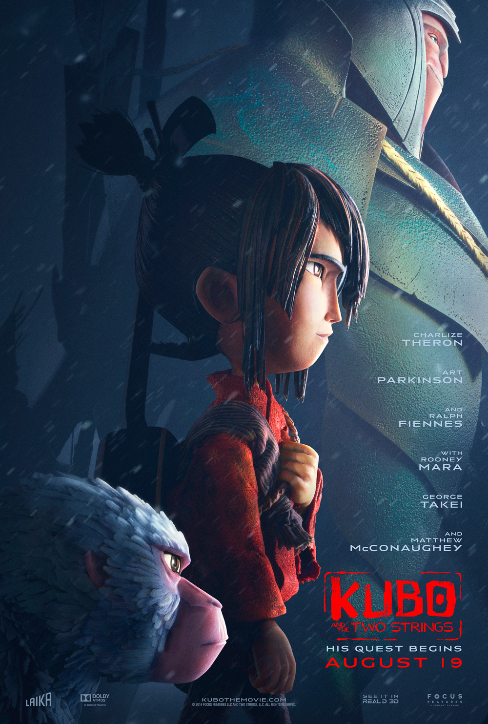 Image result for kubo and the two strings origami
