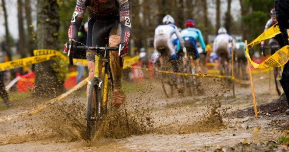 Cyclocross bicycle racing in Bangalore India