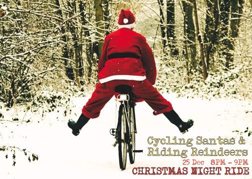 Christmas night ride
