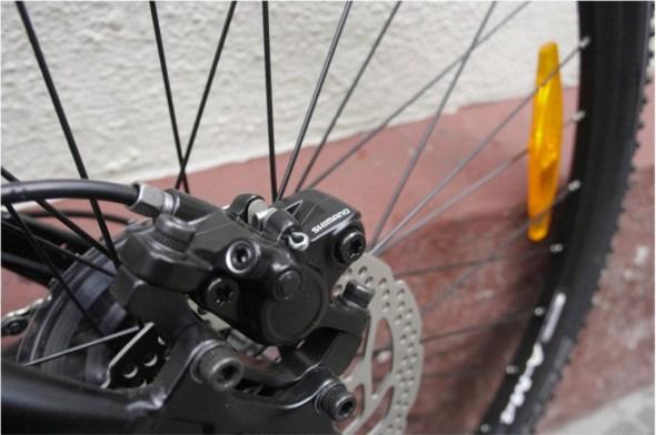 Bergamont helix 4.0 braking