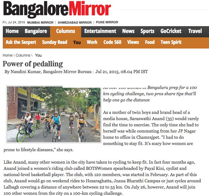 BOTS Press: Women Cycling - The Power of Pedaling