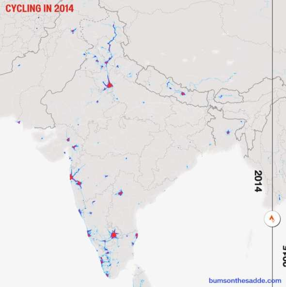 Cycling in India 2014