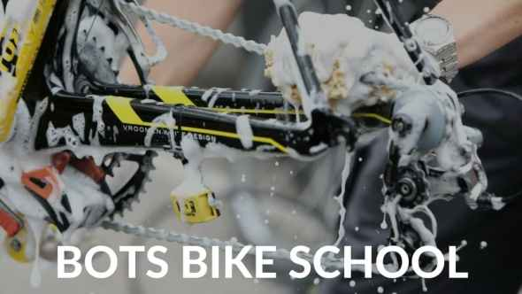 BOTS Bike School - learnings bicycle mechanics in Bangalore/India