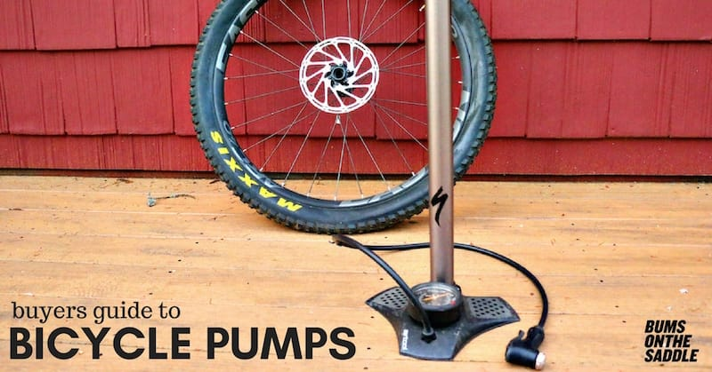buyers guide to bicycle pumps