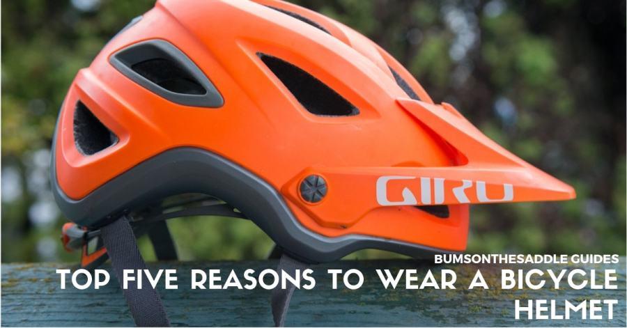 top 5 reasons to wear a bicycle helmet | BUMSONTHESADDLE
