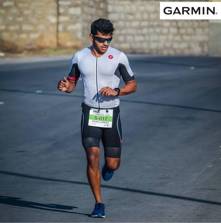 Suraj Girish - Triathlon Bangalore