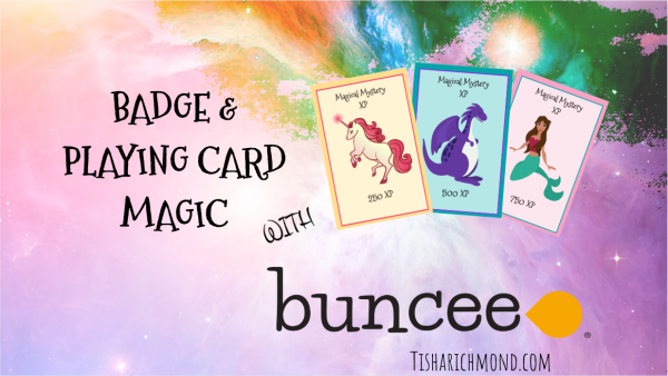 Badge and Playing Card Magic with Buncee