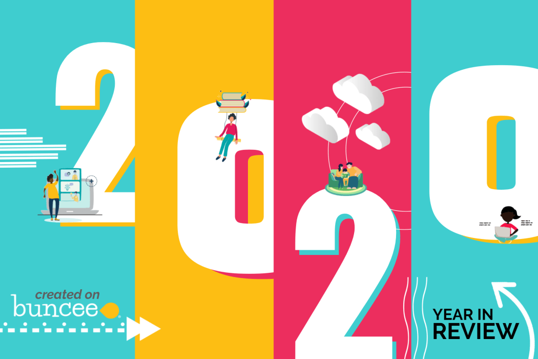 2020 Buncee Year in Review Cover Image