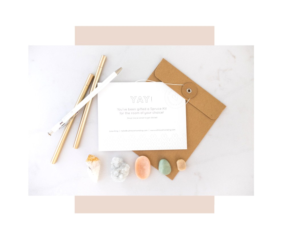 With Love From Ding: Spruce Design Kit