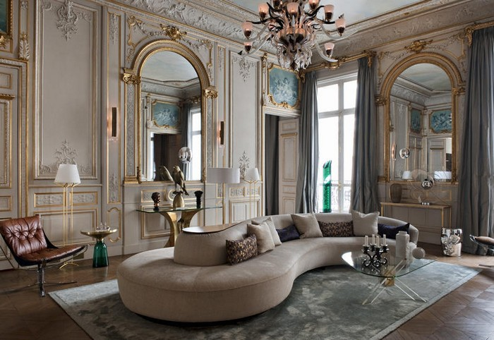 Danish Designer Creates a Perfect Parisian Palace
