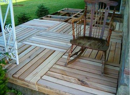 Finished Pallet Deck
