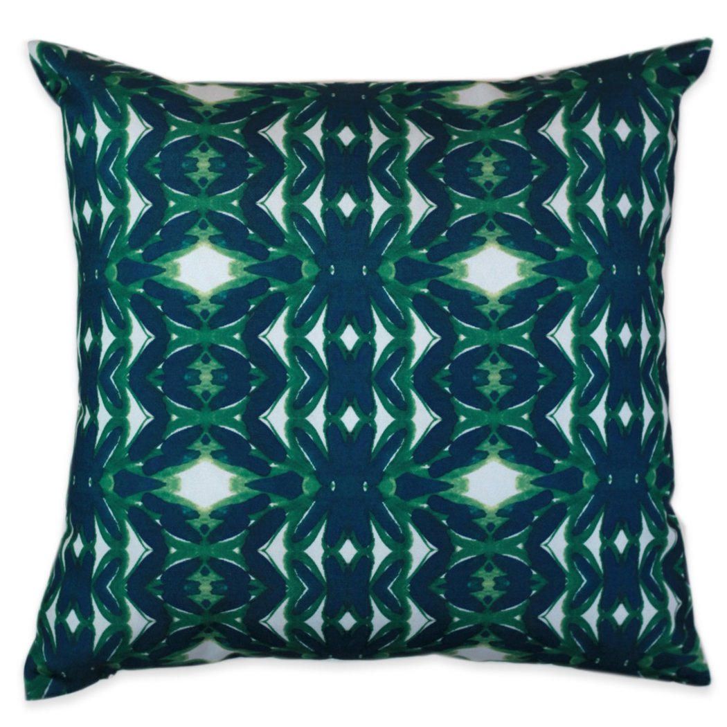Emerald Outdoor Pillow