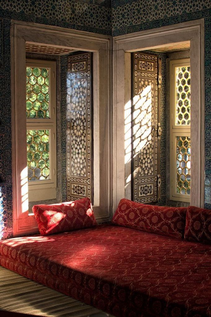 moroccan daybed red