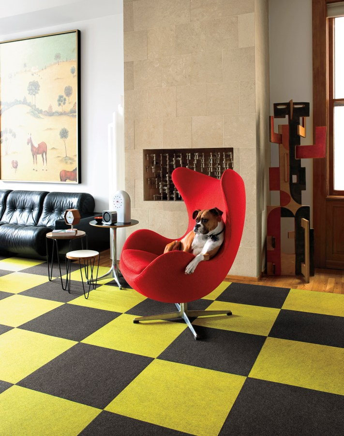 Interiors Featuring Chartreuse