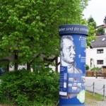 Auf den Spuren von Jean Paul - Die Wanderung des Museumsvereins begann in Jodtz.
