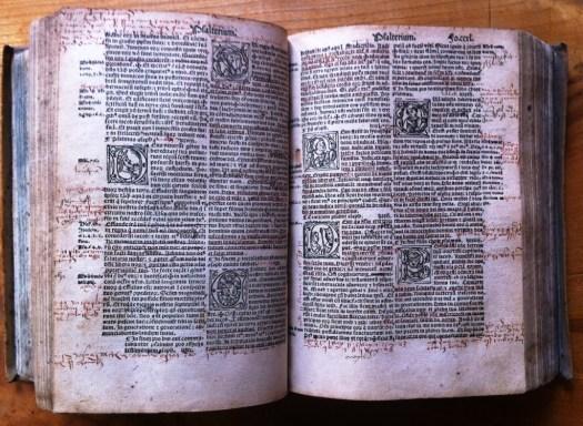 Biblia Latina Vulgata, Lyon um 1519, Museum Burg Posterstein