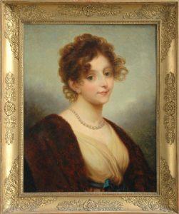 Wilhelmine von Sagan, nach Joseph Grassi (1757-1838), Museum Burg Posterstein