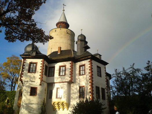 Burg Posterstein - so wie sie neulich auf Instagram zu sehen war.