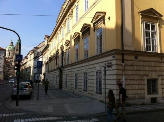Das Palais Rohan in Prag war für den Museumsverein Burg Posterstein besonders interessant.