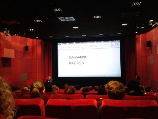 Das Deutsche Filmmuseum kann mit einem der bequemsten Tagungsräme aufwarten.