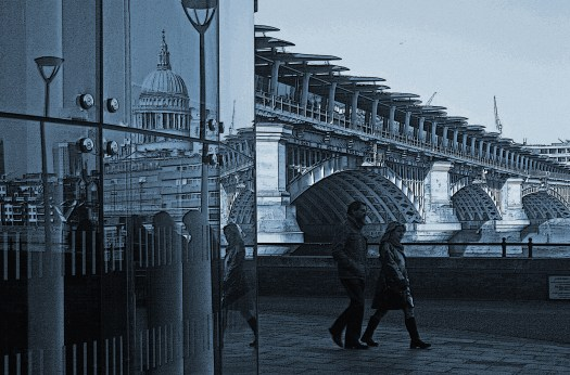 (c) Frank Rüdiger: Blackfriars Bridge, 2017