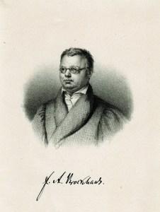 Friedrich Arnold Brockhaus gründete seinen bekannten Verlag in Altenburg.